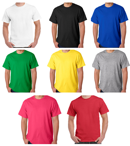 Cardiac Nurse T-shirt colors